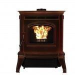 Absolute43 Pellet Stove - Photo (Majolica, Unit Only, 4C, High Res)